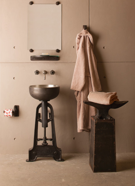 Stone Forest Industrial Pedestal - Bathroom Vanities And Sink Consoles ...