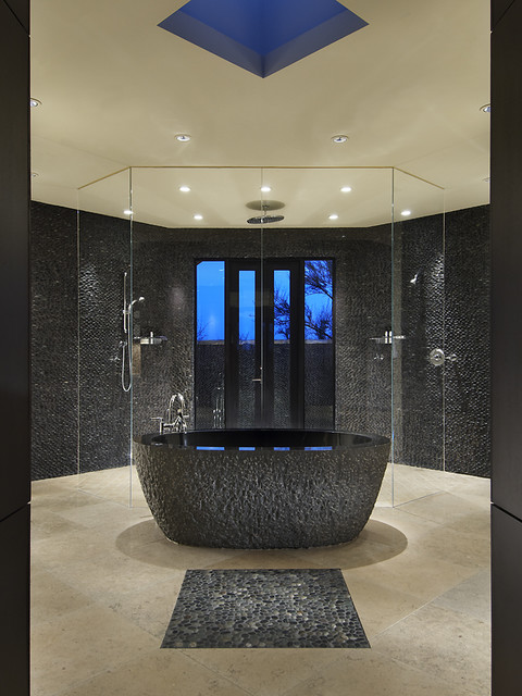 Desert Serenity contemporary bathroom