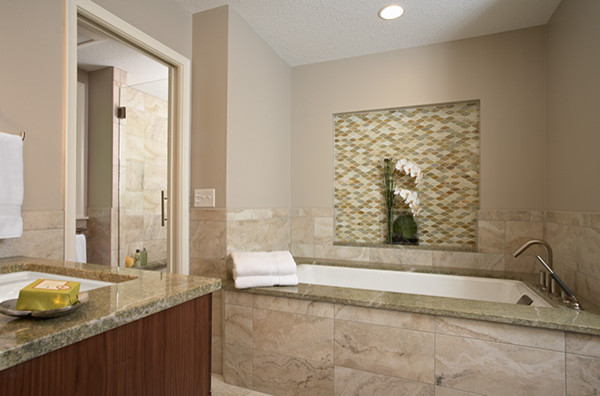 Stonegate Master Bath contemporary-bathroom