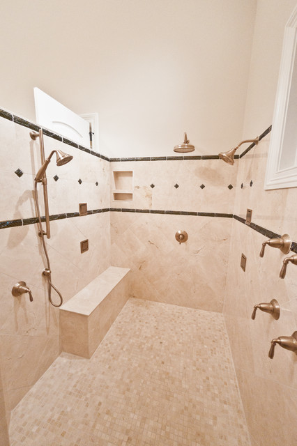 Stonehaven Master Shower traditional bathroom