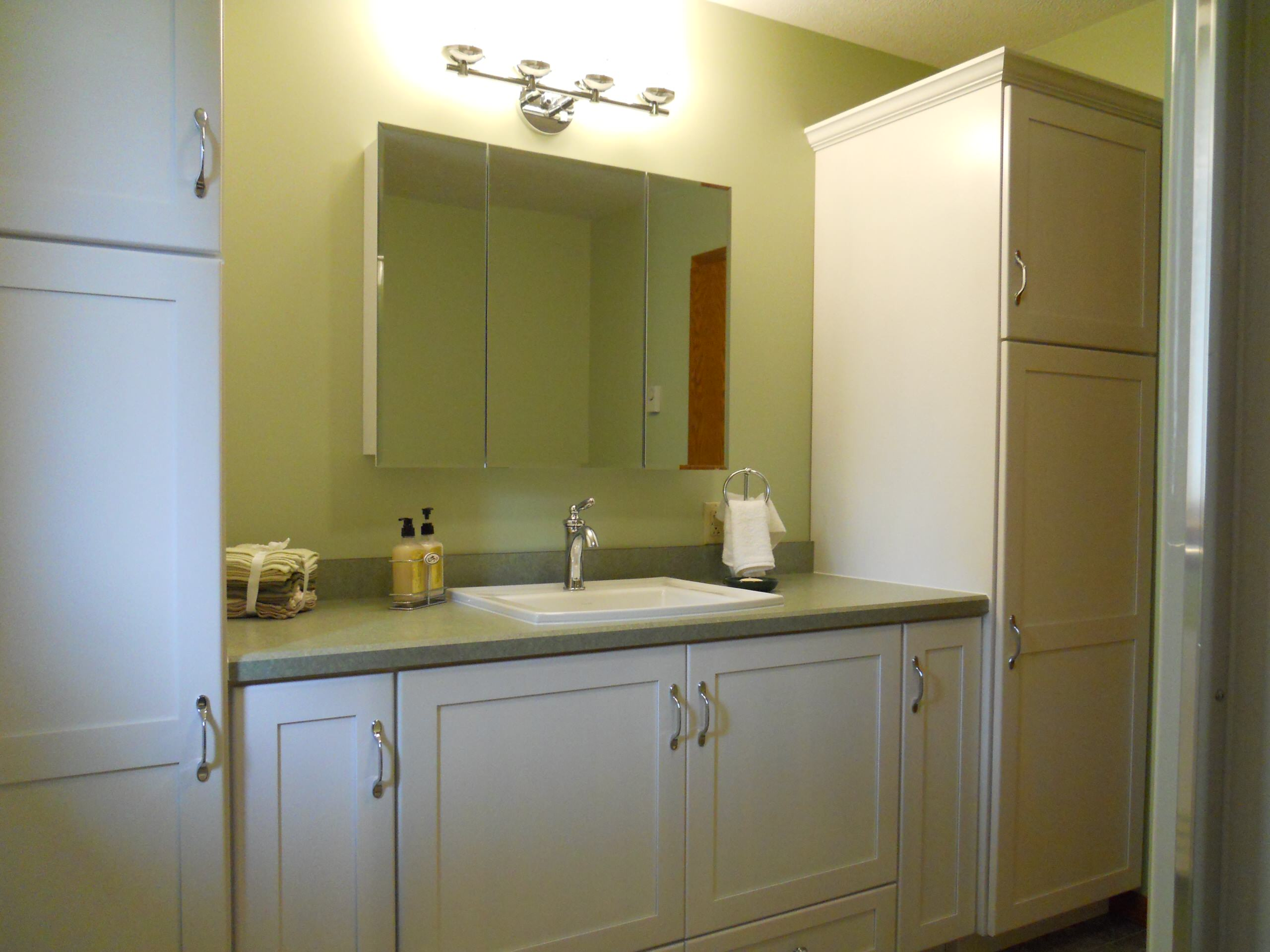 Storage Filled Bathroom