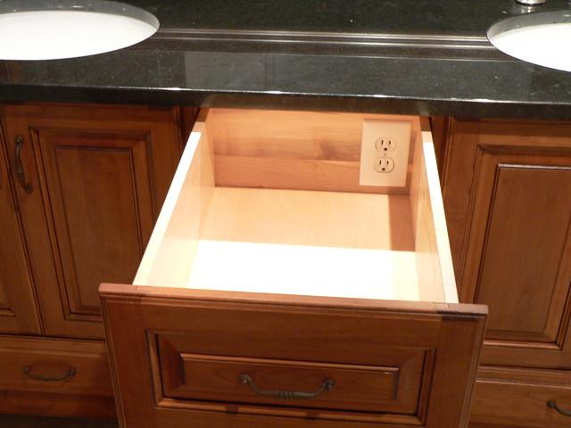Storage Ideas Traditional Bathroom Raleigh By J