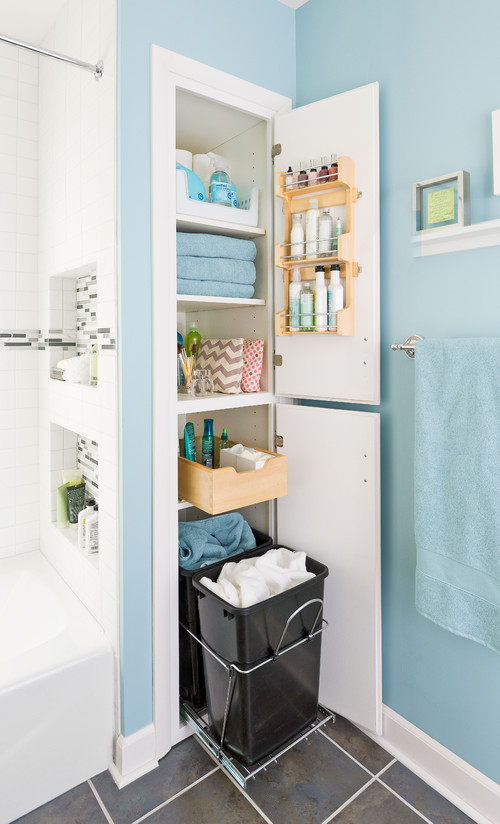 Great Bathroom Storage Ideas | Scott Hall Remodeling ...