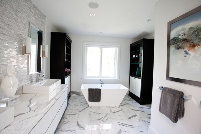 Master ensuite Ensuite tile ideas pictures