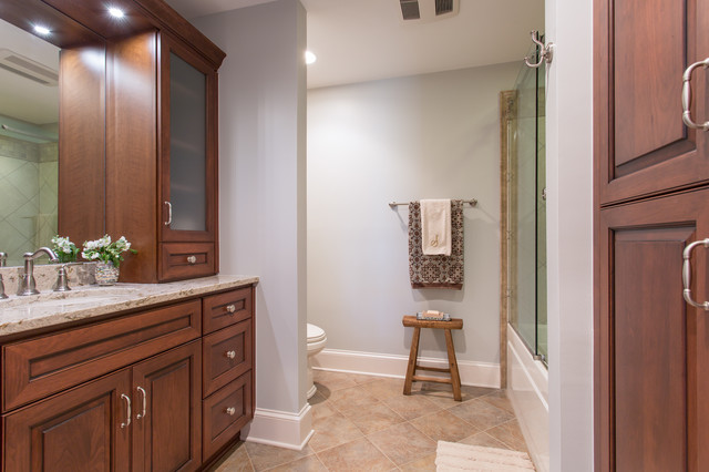 Story Master Hall Bath Traditional Bathroom Raleigh By Rima Nasser