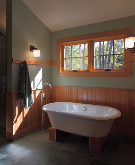 Stowe Vermont Home contemporary-bathroom