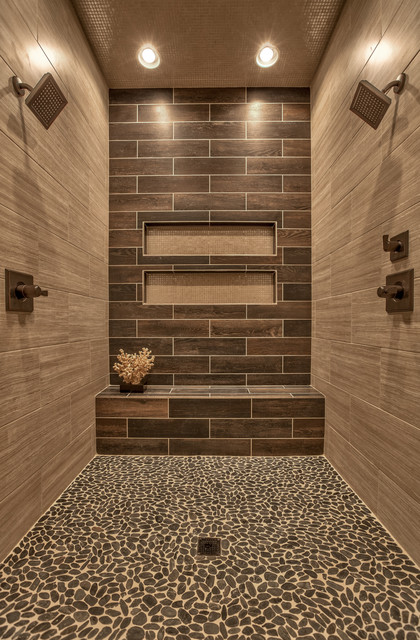 Street of Dreams 2013 - Transitional - Bathroom - Omaha - by Falcone Homes