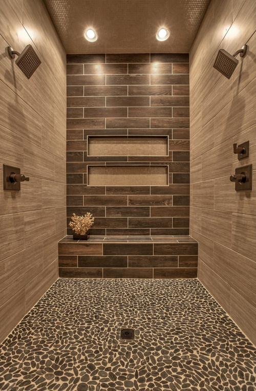 - Tile Shower