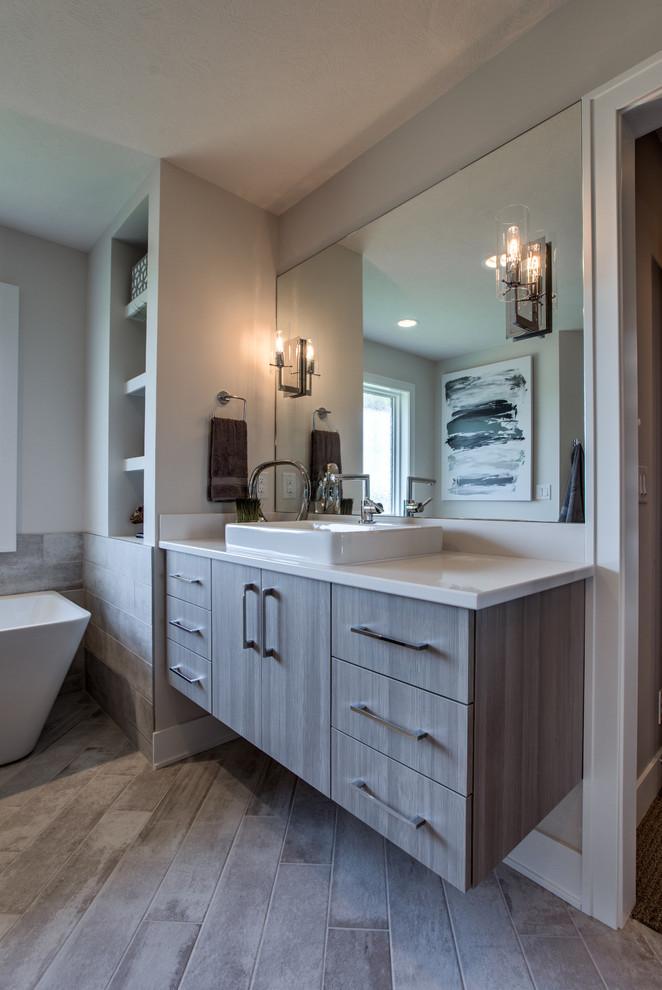 Street Of Dreams OMAHA - Contemporary - Bathroom - Omaha ...