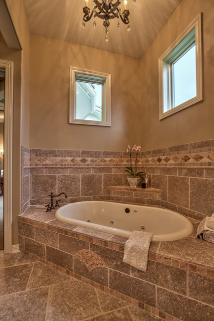 Street Of Dreams 2013 Tuscan Villa Mediterranean Bathroom Other Metro By Inspired Interiors