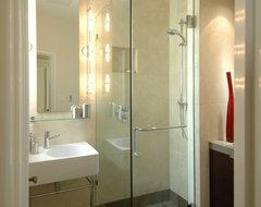 Striking a Balance-Bathroom contemporary-bathroom