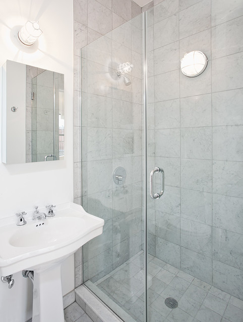 Studio Bathroom Eclectic Bathroom New York By The