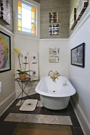 studiobfg.com eclectic bathroom