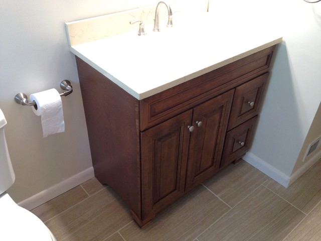 Studs to Stupendous - Transitional - Bathroom - other metro - by Lowe's of E. Virginia Beach