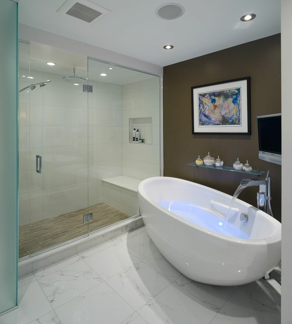 Stunning Bathroom Renovations By Astro Design Ottawa Contemporary