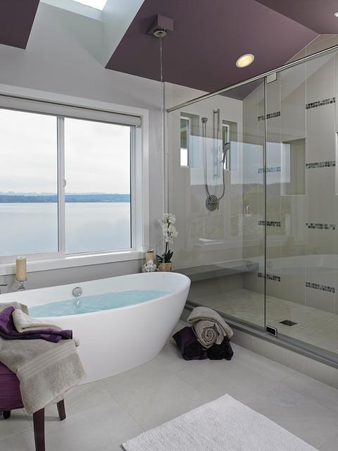 Renew Rejuvenate Modern Bathroom Seattle By