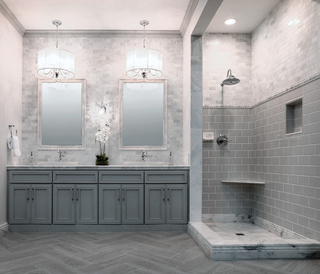Marble Bathrooms: Style Profile: White Marble