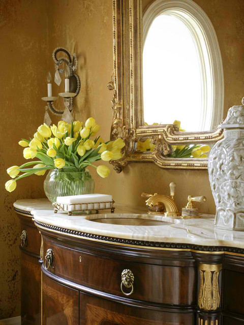 Styles and Finishes traditional-bathroom