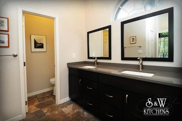 Stylish & Streamlined Master Bath traditional-bathroom