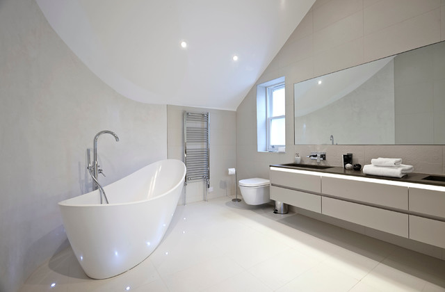 Suburban Family Home Ealing Broadway London Contemporary Bathroom London By Hugo
