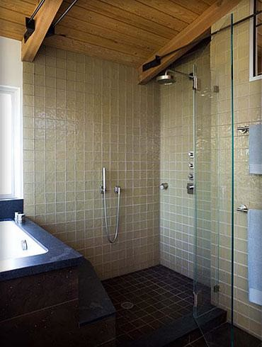 SUBURBAN RANCH contemporary-bathroom