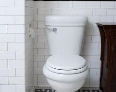 Subway Tile Shower traditional-bathroom