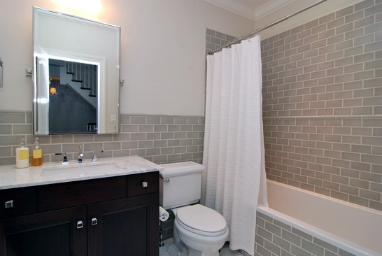 Subway tile wainscoting bathroom - Bathroom remodel ideas with wainscoting ...