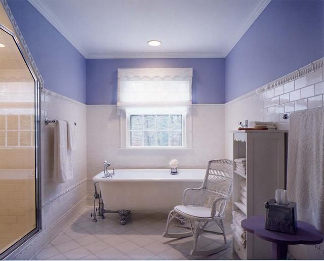Sudbury House traditional-bathroom