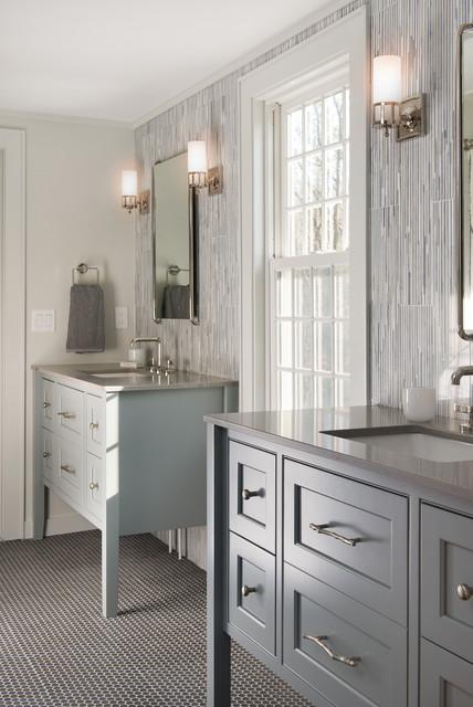 Sudbury Traditional Bathroom Boston By Pinney Designs