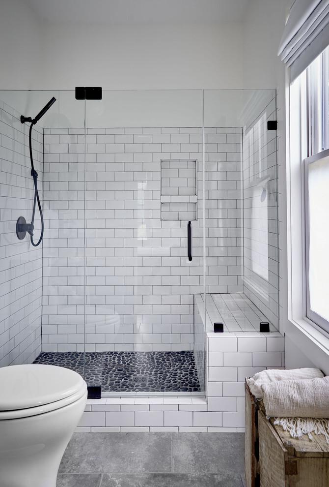 Sugar Grove Farmhouse - Farmhouse - Bathroom - Other - by ... on Farmhouse Bathroom Tile  id=87391