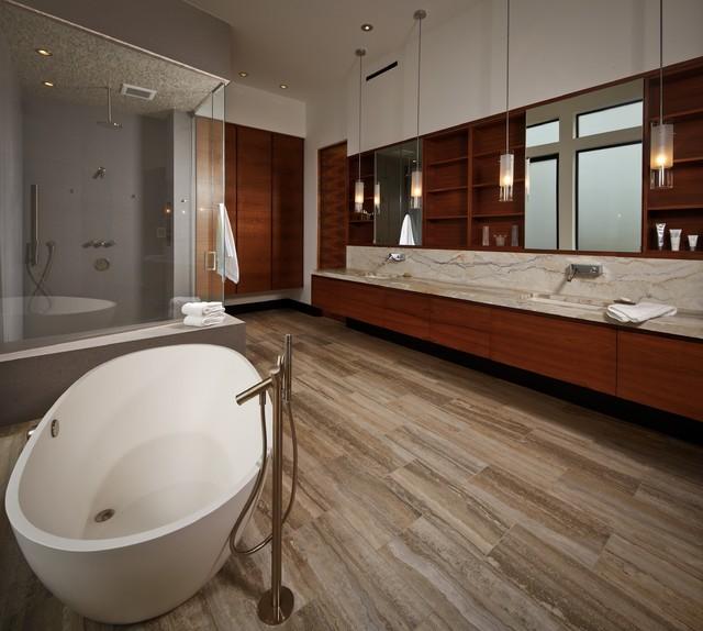 Sugarland Canal Residence Modern Bathroom Houston By