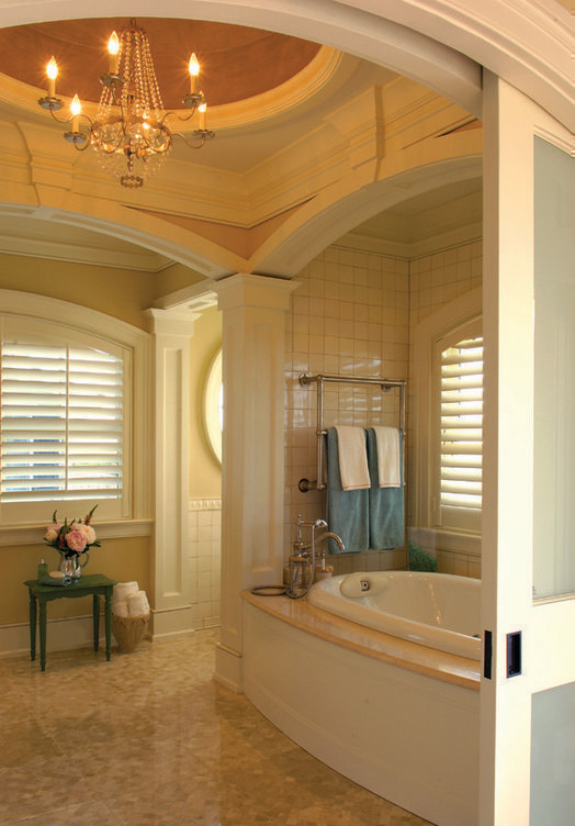 Bathroom - traditional bathroom idea in Charleston