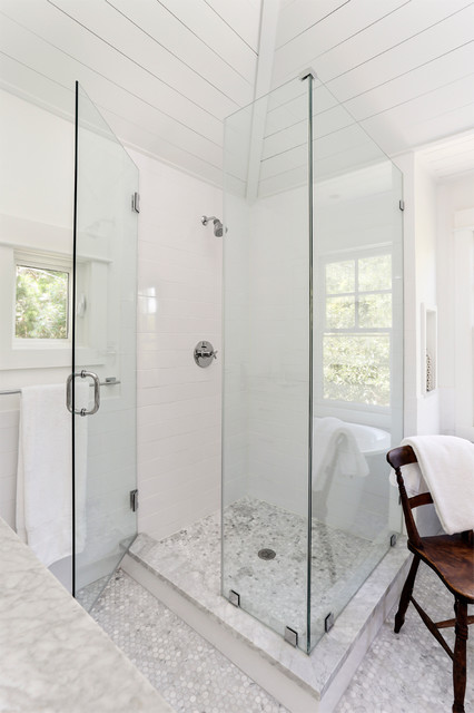 Sullivans Island Beach House No 3 Beach Style Bathroom Charleston By Amy Trowman Design