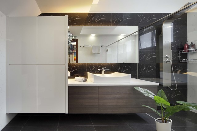 Summer Gardens modern bathroom