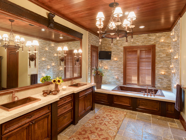 Summer Home traditional-bathroom