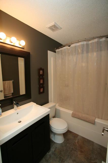 Sunflower contemporary bathroom edmonton by rivet for Bathroom decor edmonton