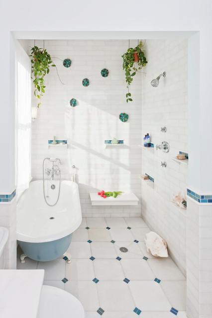 Sunny Bathroom traditional-bathroom