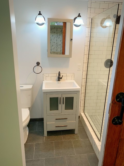 Sunnyvale Full Remodel - Transitional - Bathroom - San ...