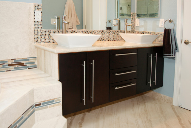 Sunnyvale Neo Espresso Contemporary Bathroom Vanity For C M