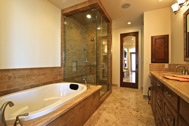 Sunset beach bathrooms traditional bathroom other for Sunset bathroom designs
