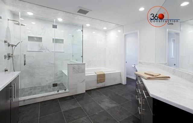 Sunset Ridge Master Bathroom contemporary-bathroom