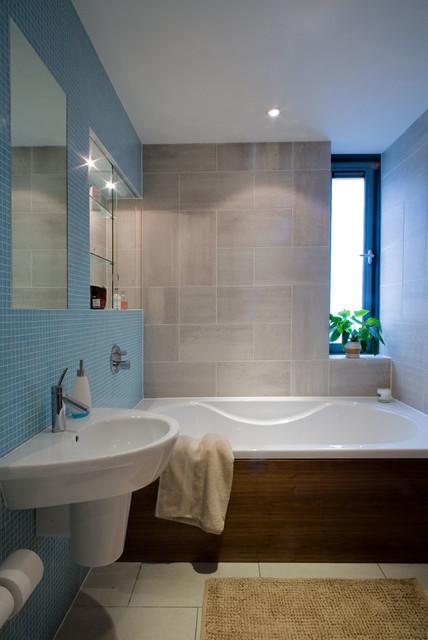Supermews Edinburgh Contemporary Bathroom Other Metro By Zone Architects