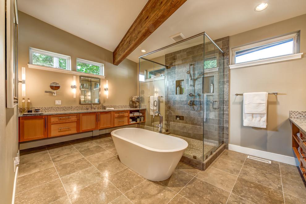 Suquamish Residence - Contemporary - Bathroom - Seattle ...