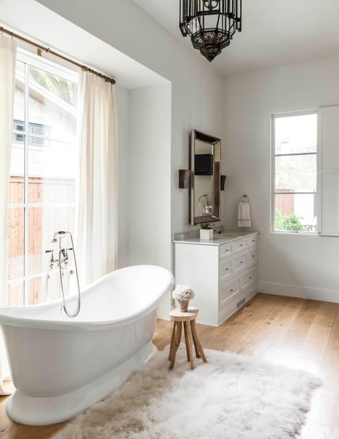 Surrey circle transitional bathroom dallas by for Bathroom design surrey