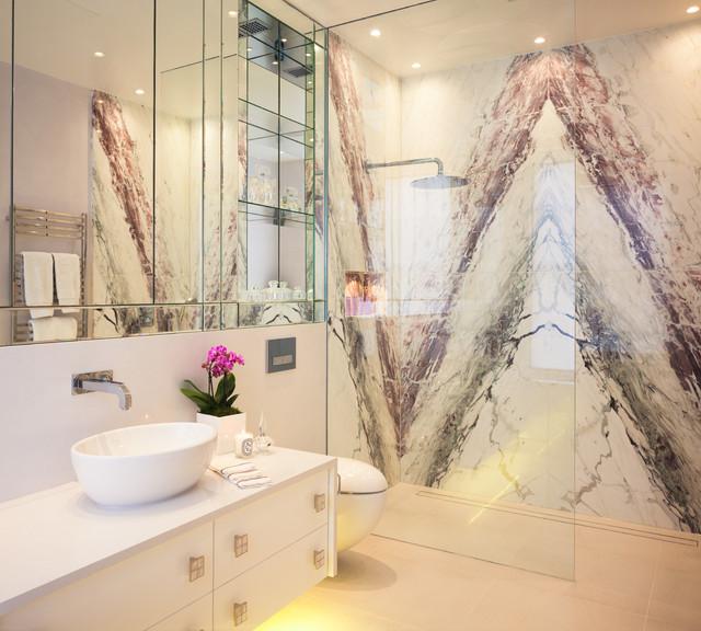 Traditional Contemporary Bathrooms Ltd: Surrey Residence