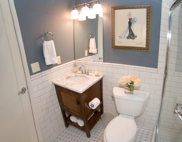 AK Interior Design Designers Decorators Surrey Ridge Residence Eclectic Bathroom