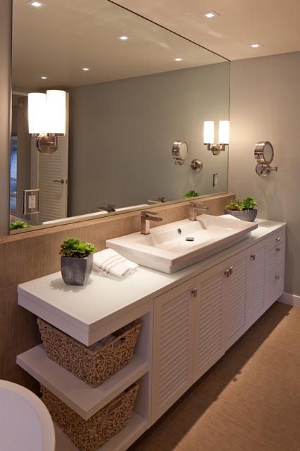 Sustainably Beach Modern Contemporary Bathroom San Diego By Kw Designs