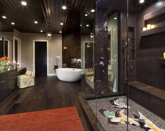Sutton III Master Bathroom contemporary bathroom
