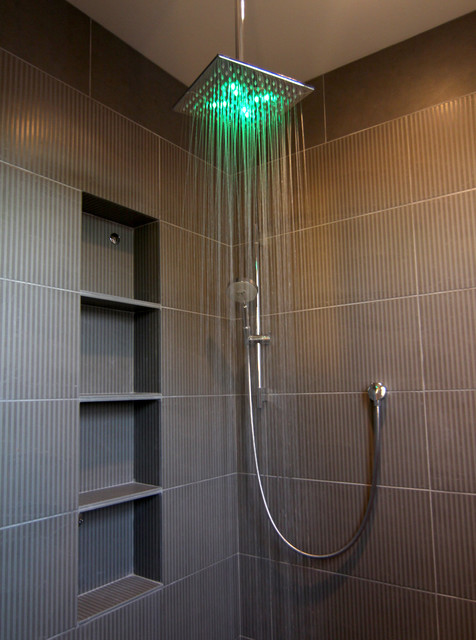Sv master bathroom shower contemporary bathroom phoenix by for Photos of contemporary bathrooms