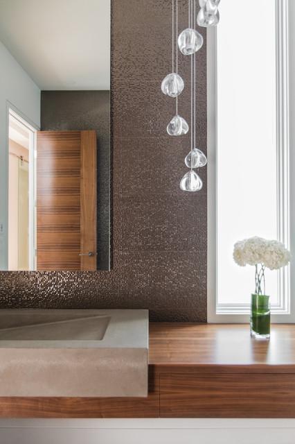 Sw calgary residence modern bathroom calgary by for Bathroom decor calgary